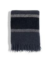 Stripped Wool Boucle Peite Sininen