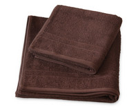 Premium Terry Towel Bark Brown