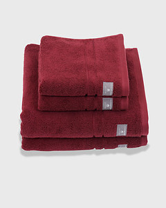 Premium Terry Towel Cabernet Red