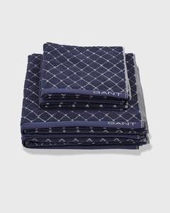 Diamond Towel Sateen Blue