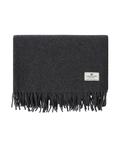 Aurora Wool Scarf Dark Gray