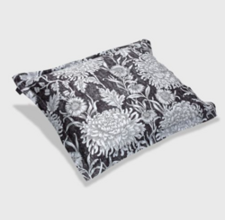 Dahlia Mono Flower Pillowcase