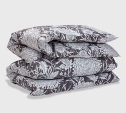 Dahlia Mono Flower Single Duvet