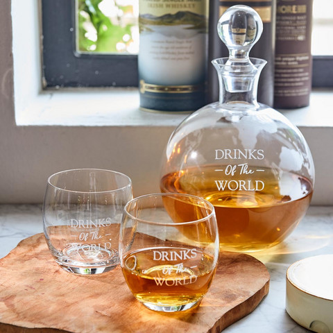 Drinks Of The World Whiskey Set