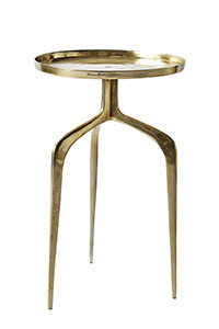 Faubourg End Table gold 42 cm dia