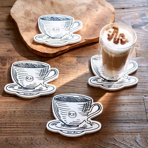 RM Café Coasters 4 pcs