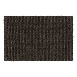 Doormat Jute Coffee 90x60