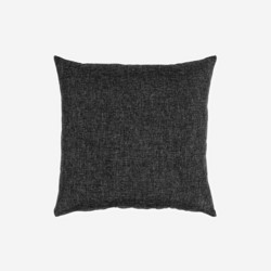 Lassi Cushion Black 50x50