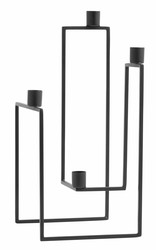 ORA Candle Holder Black