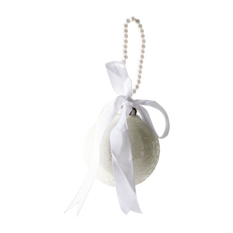 Prettiest Pearl Ornament Dia 8