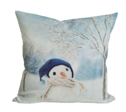 Snowman Pillow cover 45x45