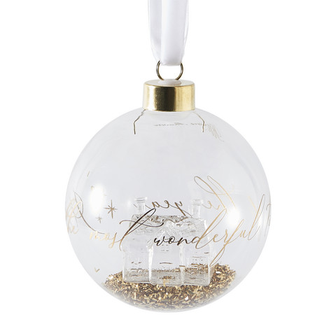 RM Glass House Ornament Dia 10
