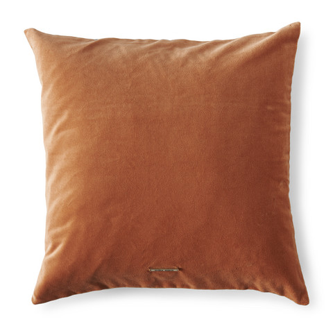 Vintage Velvet Pillow Cover Orange 50x50