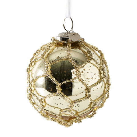 Sandringham Ornament gold