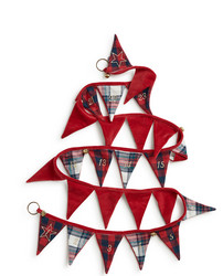 Holiday Christmas Calendar Pennant