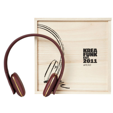 aHEAD Bluetooth Headphones Urban Plum
