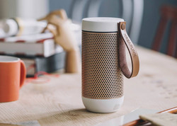 aFunk Wireless speaker White w. Rose Gold