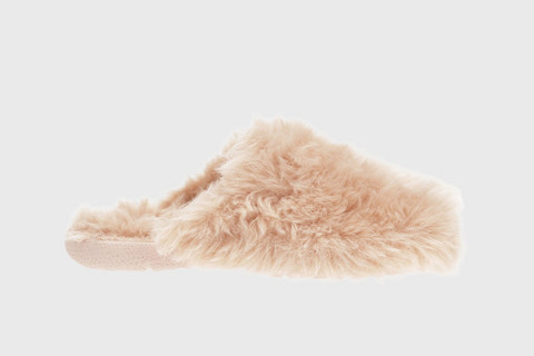 Siesta Furry Mule Slipper