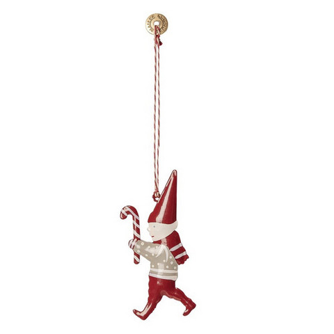 Ornament Pixy Candy Metal 8