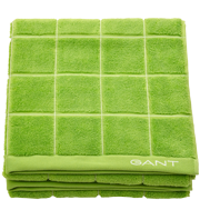 Window Check Towel Jasmine Green