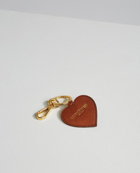 Heaven Leather Keyring Brown