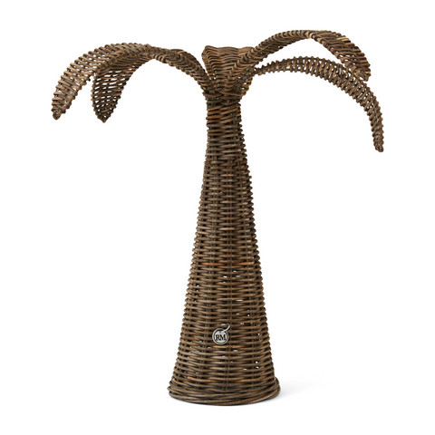 Rustic Rattan Palm Tree M