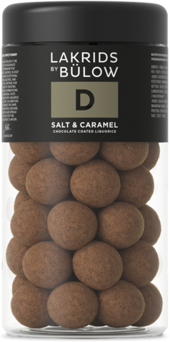 D – REGULAR SALT & CARAMEL CHOC COATED LIQUORICE