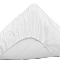 Sateen Single Fitted Sheet 90x200/25