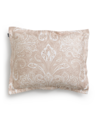 French Paisley Pillowcase Dry Sand 50x60