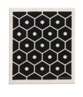 Dish Cloth Honey Black