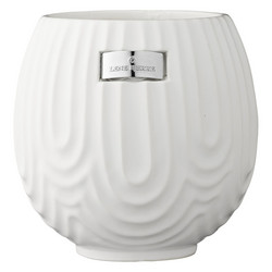 Sarah flower pot 16 x 16 cm, white