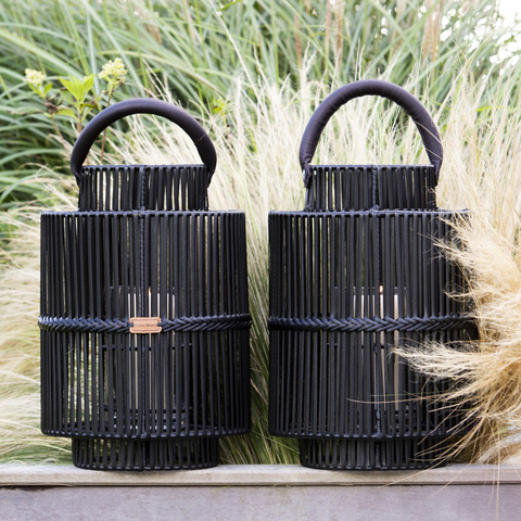 Bartolome Outdoor Lantern black