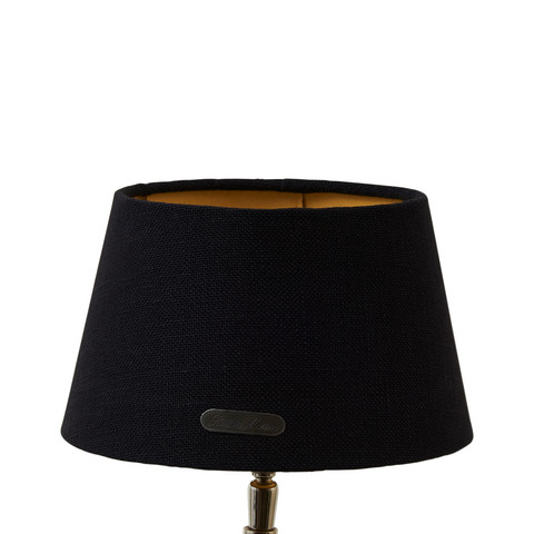 Chic Lampshade bl/gld 15x20