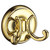 VILLA Towel Hook Brass