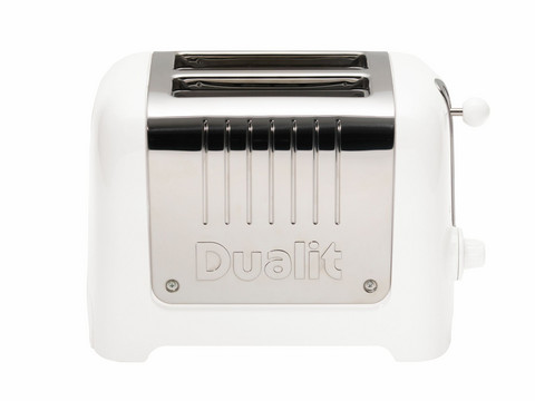 2 Slice Lite Toaster White
