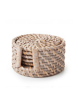 Rattan Coaster (set of 6)