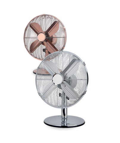 Vintage 35W Table fan Copper