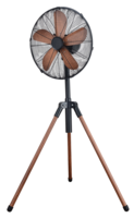 Vintage 50W Tripod fan Black