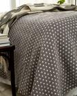 Icons Star Bedspread Medium Gray 260x240