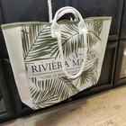 Soleil Beach Bag Tropical Leaves