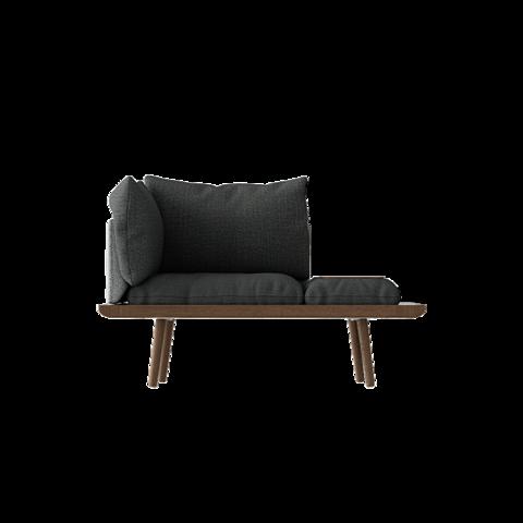 Lounge Around 1.5 seater Dark oak