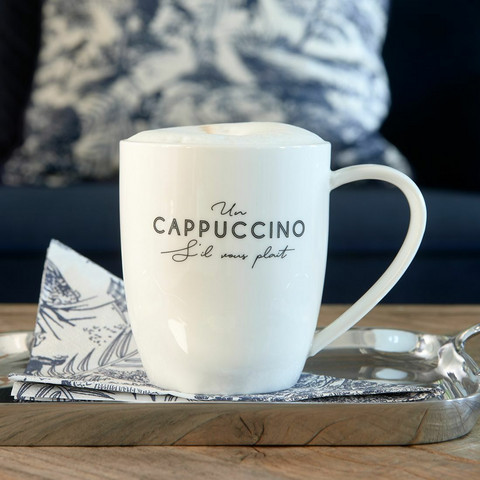 S'il Vous Plaît Cappuccino Mug