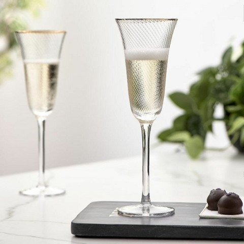 The Classic Club Champagne Glass