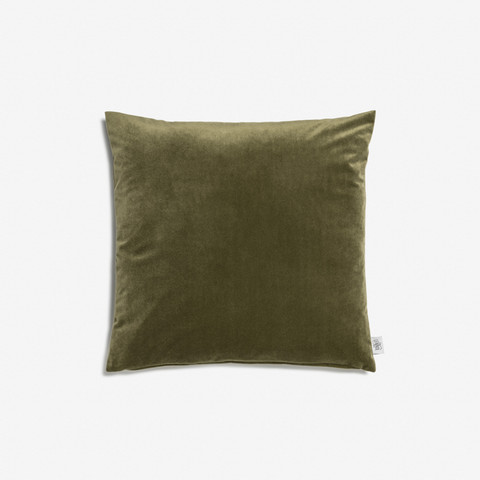 Helen cushion 45x45 Olive green