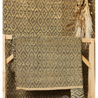 Seagrass Diamond Mat 160x230