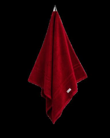 Organic Cotton Premium Towel Dark red