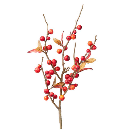 Branch with berries 35cm