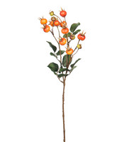 Rose berry branch 60cm