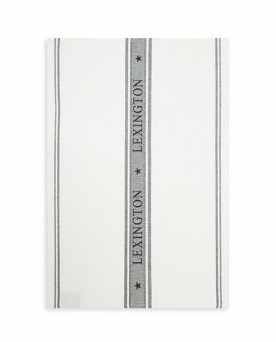 Icons Cotton Jacquard Star Kitchen Towel Black-white
