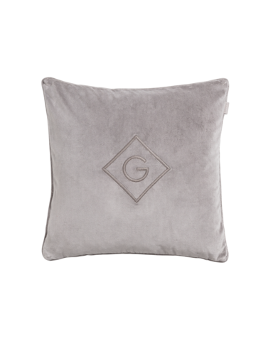 Velvet G Cushion 50x50 Elephant grey